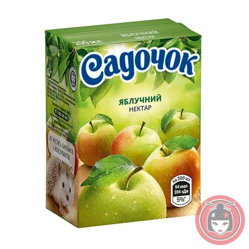 Купить Нектар Садочок яблочный 0.2л